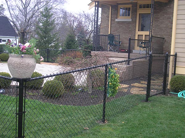 Vinyl coated chain link fence in Landscape Supplies - Compare