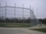 Galvenized Chain Link Backstop