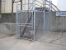 Industrial 6ft Chain Link with Barb Wire
