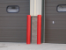 Red Bumper Posts