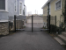 6ft High Double Drive Aluminum Gates with Gate Operators