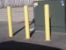 Yellow Bumper Posts